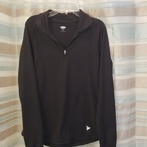 Old Navy small 1/4 zip athletic top